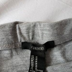 Forever 21 Skirts - Forever 21 Gray Bodycon Pencil Skirt